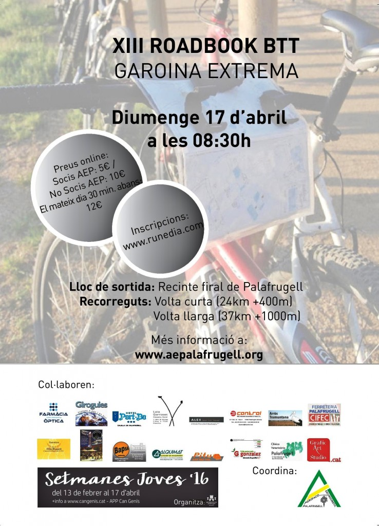 ROADBOOK BTT 2016