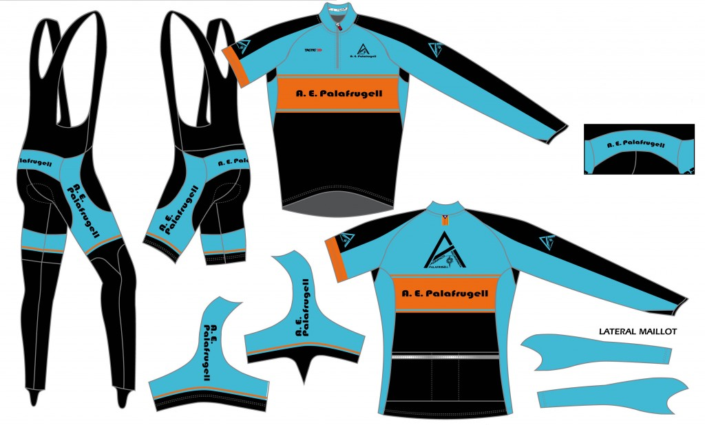 Nova roba de l'Agrupació Excursionista de Palafrugell de ciclisme 2014