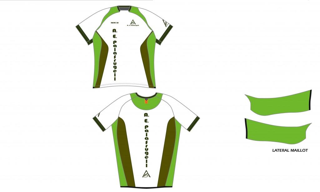 Nova roba de l'Agrupació Excursionista de Palafrugell de córrer 2014