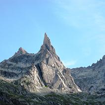 Agulla Dibona (3.131m): Alps Francesos