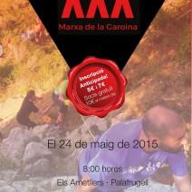 XXX Marxa de la Garoina: inscripcions obertes