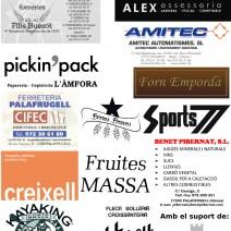 XXX Marxa de la Garoina: patrocinadors