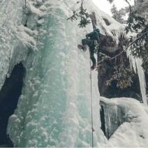 Escalada en el gel a Noruega febrer 2018